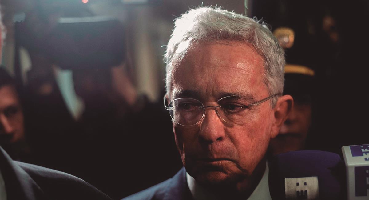 Álvaro Uribe Vélez da positivo para COVID-19. Foto: EFE