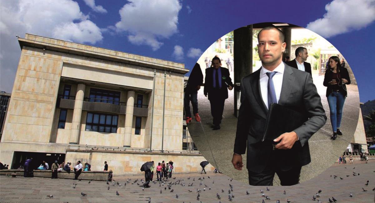 La Corte Suprema de Justicia otorgó casa por cárcel a Diego Cadena dentro de la investigación a Álvaro Uribe Vélez. Foto: Facebook / Corte Suprema de Justicia