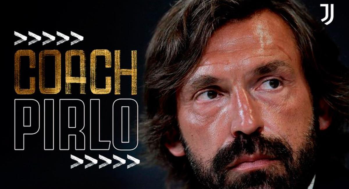 Andrea Pirlo, nuevo DT de Juventus. Foto: @juventusfces