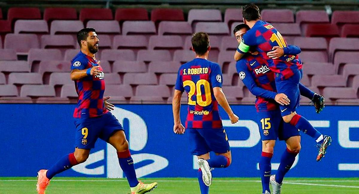 Barcelona pasa a cuartos de final de Champions League. Foto: EFE