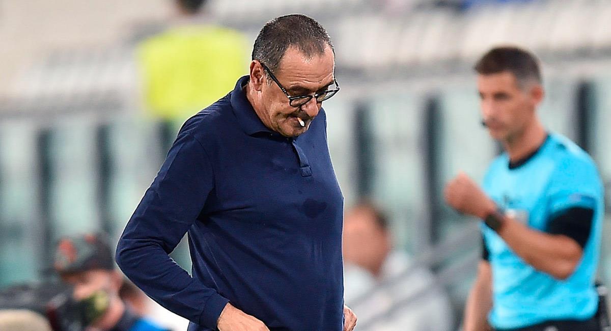 Maurizio Sarri sale de la dirección técnica de Juventus. Foto: EFE