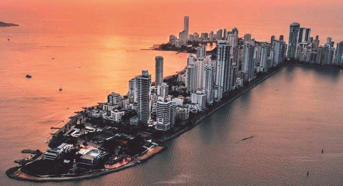 Cartagena, Colombia. Foto: Twitter @Pais_Hermoso