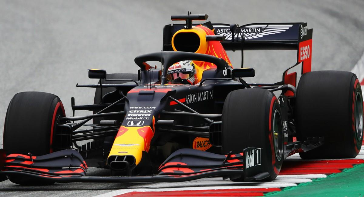 Verstappen ganó en Silverstone. Foto: Twitter Prensa redes Max Verstappen.