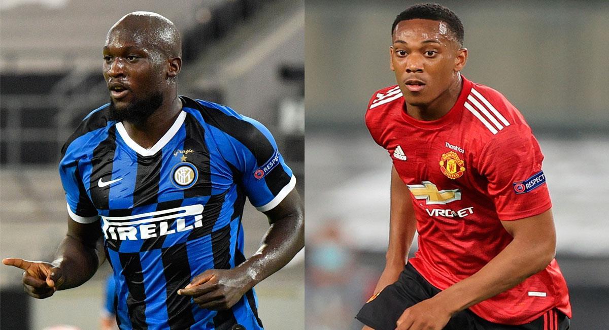 Inter y Manchester United lograron su cupo a semifinales de la Europa League. Foto: EFE