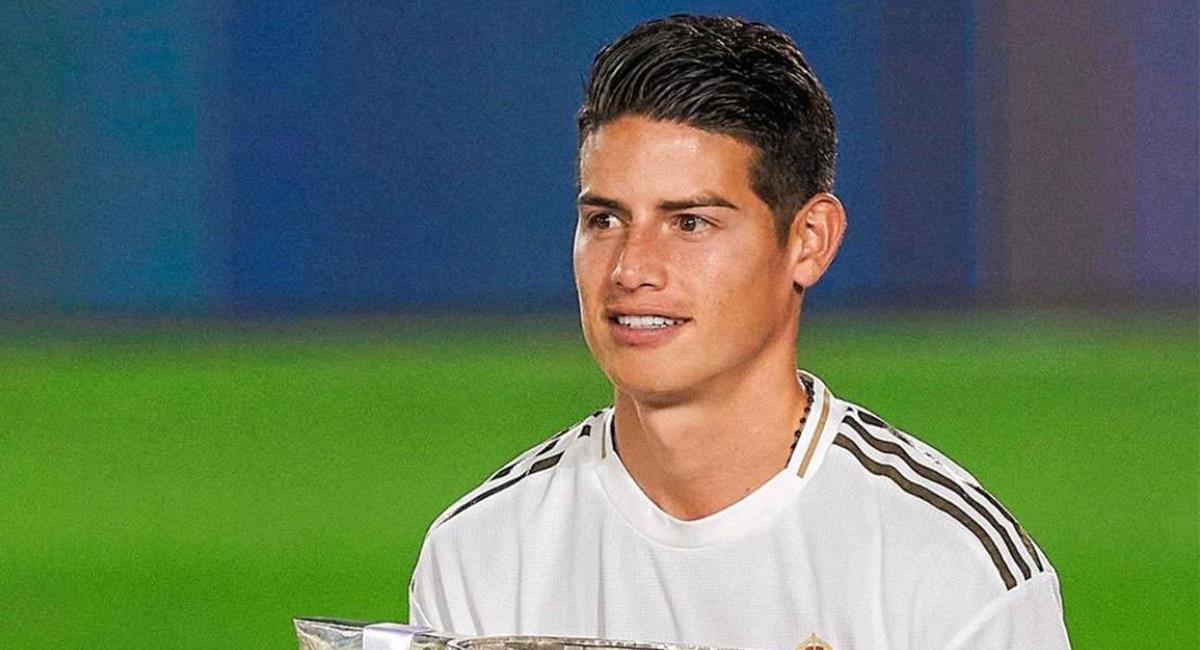 James Rodríguez no continuará en Real Madrid  para 2021. Foto: Twitter @jamesdrodriguez