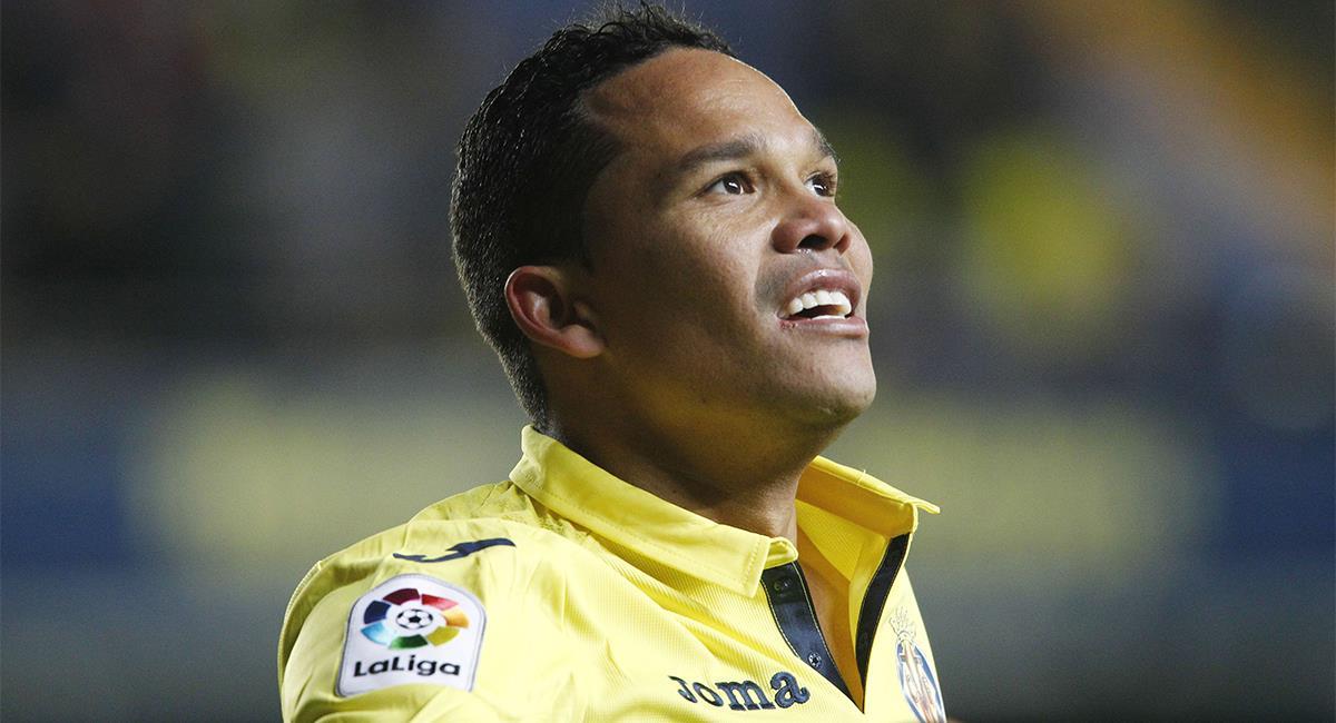 Carlos Bacca está en la lista de transferibles de Villarreal. Foto: Twitter @LaLiga