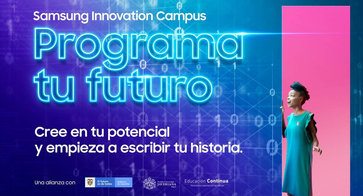 La iniciativa también tiene el apoyo del Gobierno nacional. Foto: Samsung Colombia