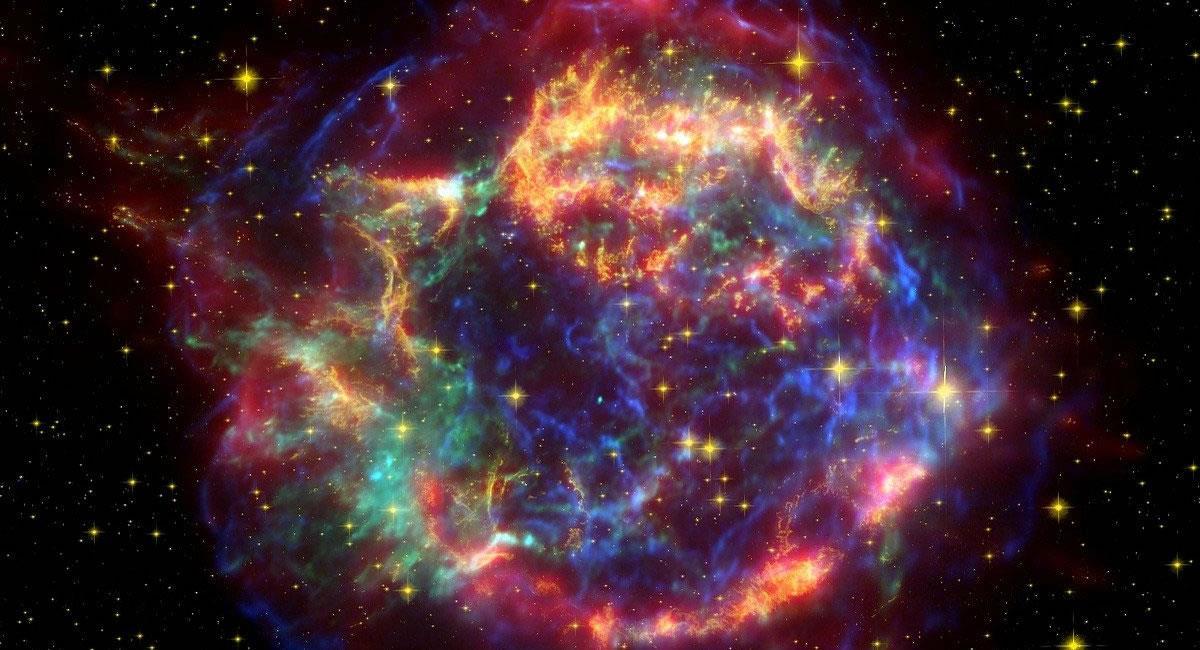 La Supernova 1987A, era el 'escondite' de esta peculiar estrella de neutrones. Foto: Pixabay