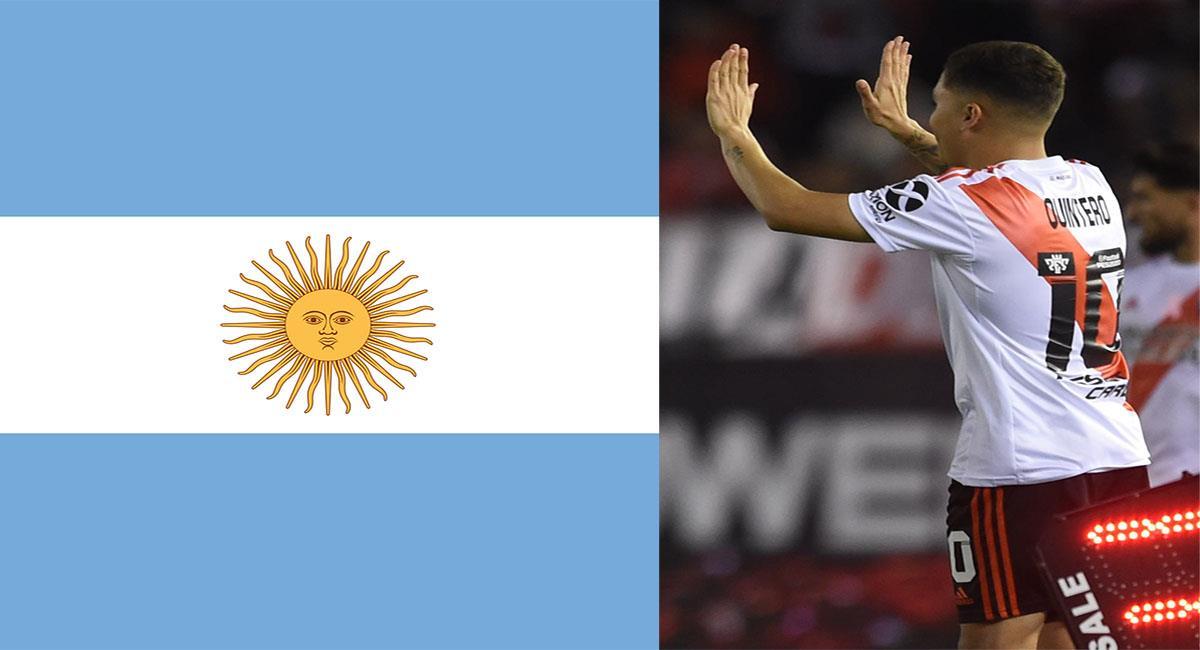 Juan Fernando Quintero es uno de los futbolistas colombianos más exitosos en Argentina. Foto: Pixabay Twitter Juanfer Quintero