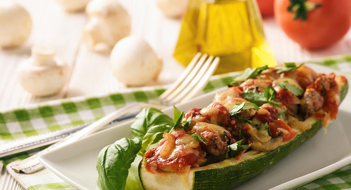 Los calabacínes rellenos serán una excelente opción para aprender a comer. Foto: Shutterstock