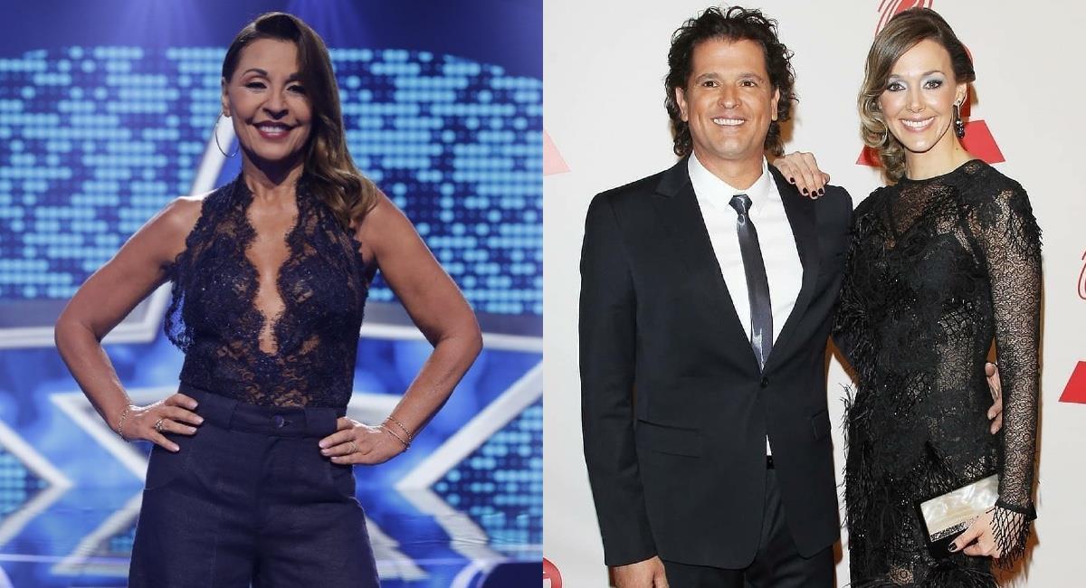 El comentario deja en duda una buena relación entre la actriz y la presentadora. Foto: Instagram @agrisales333/@claudiaelenaoficial.