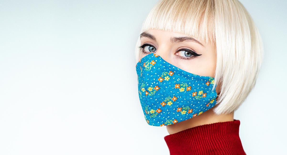 Trucos de belleza para que el maquillaje no se arruine con el tapabocas. Foto: Shutterstock