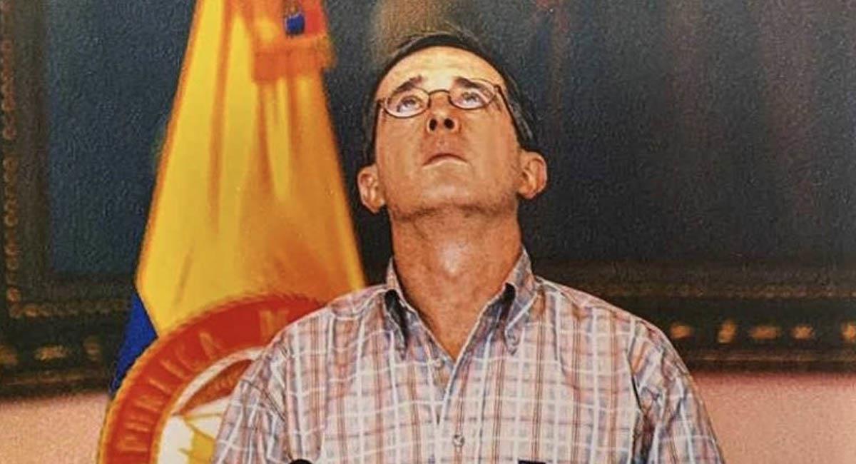 Álvaro Uribe, expresidente de Colombia (2002-2010). Foto: Twitter / @nperezvasquez