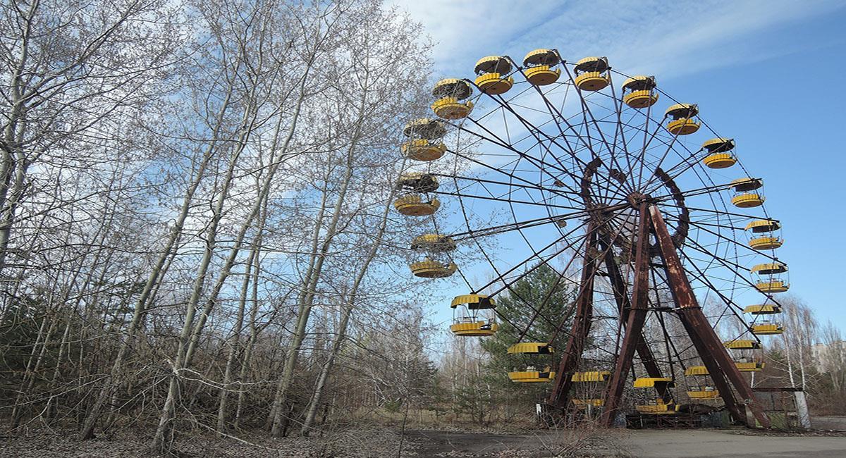 El pueblo fantasma de la central nuclear de Chernobyl