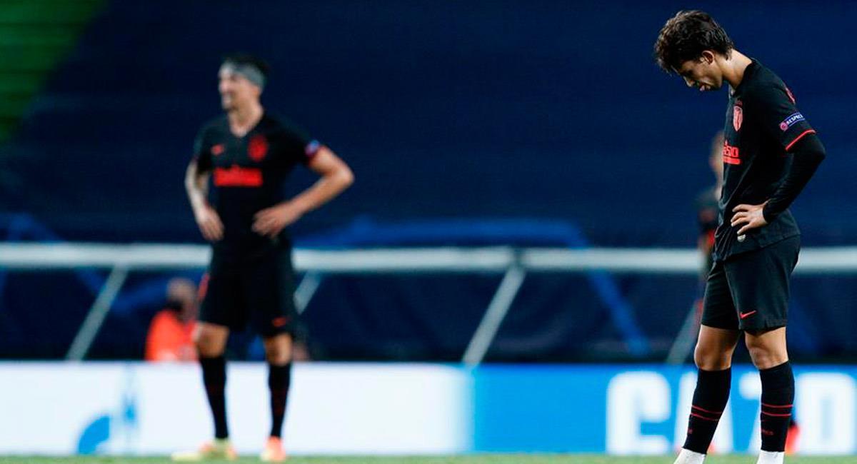 Atlético de Madrid queda eliminado de la Champions League. Foto: EFE