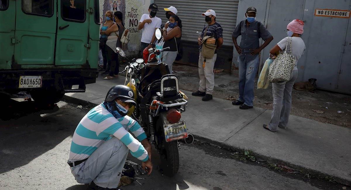 La crisis venezolana ha llevado a que sean miles los ciudadanos que han tenido que salir de su país. Foto: EFE
