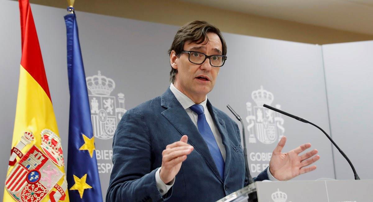El ministro de Sanidad de España, Salvador Illa. Foto: EFE