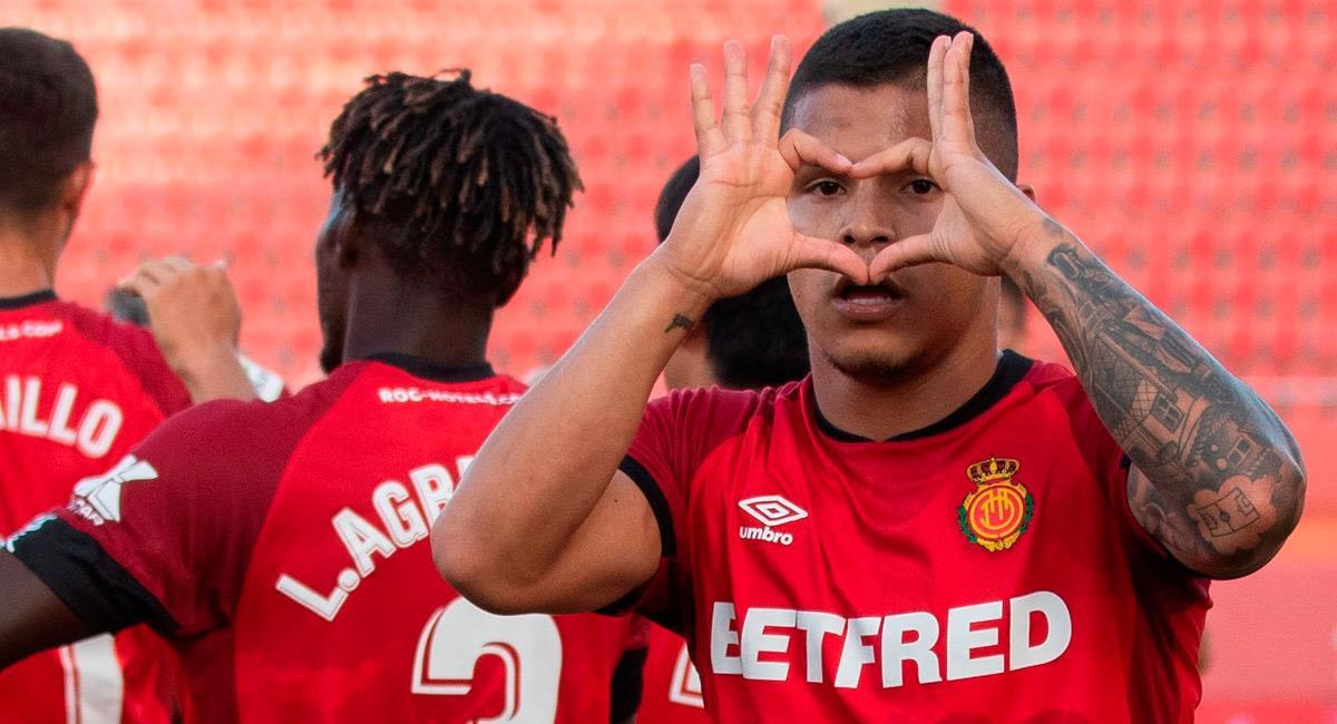 Cucho Hernández jugó con Mallorca la pasada temporada. Foto: EFE