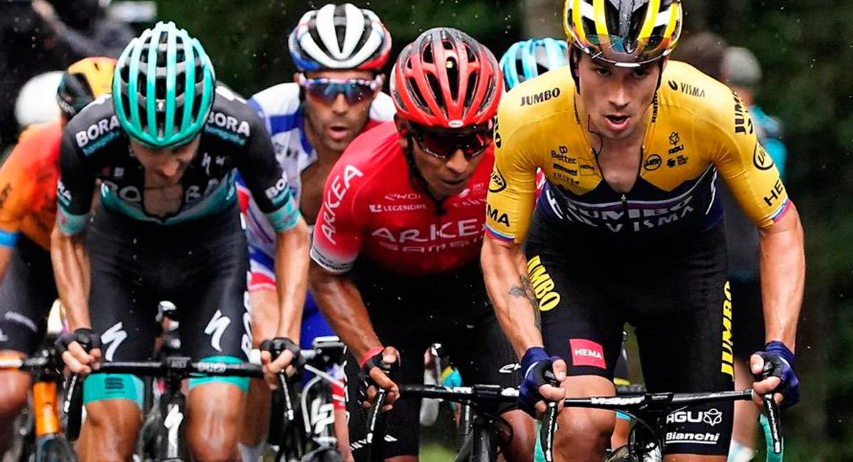 Nairo Quintana en el Critérium du Daphiné. Foto: EFE
