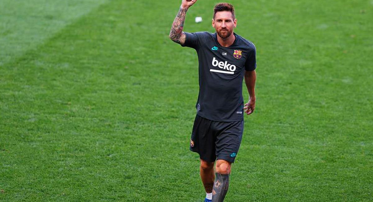 Lionel Messi está listo para el duelo ante Bayern Múnich. Foto: EFE