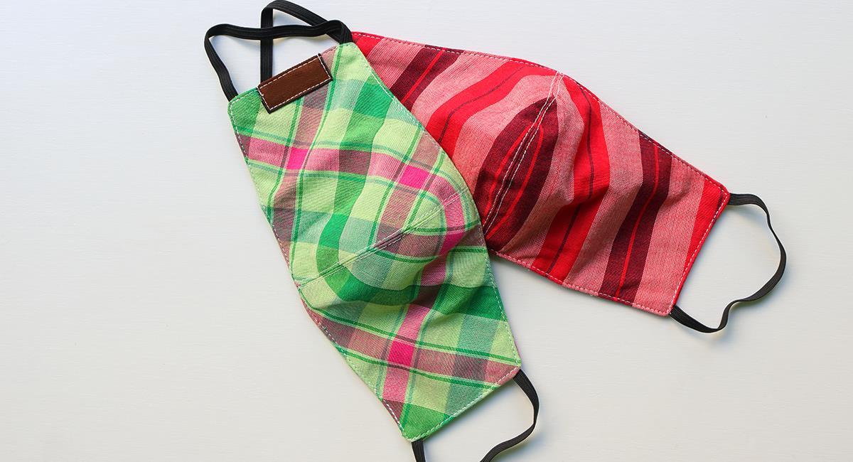 Científicos comprueban la efectividad de los tapabocas de tela reutilizable. Foto: Shutterstock