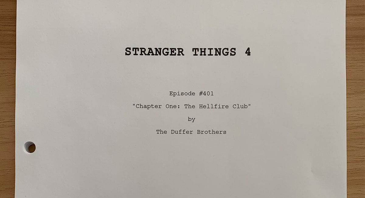 """Por ahora no se conocen muchos detalles de la nueva temporada de """"Stranger Things"""". Foto: Twitter @strangerwriters"""