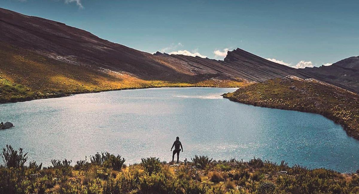 Parque Nacional Natural El Cocuy en Boyacá. Foto: Instagram @juancamilolq