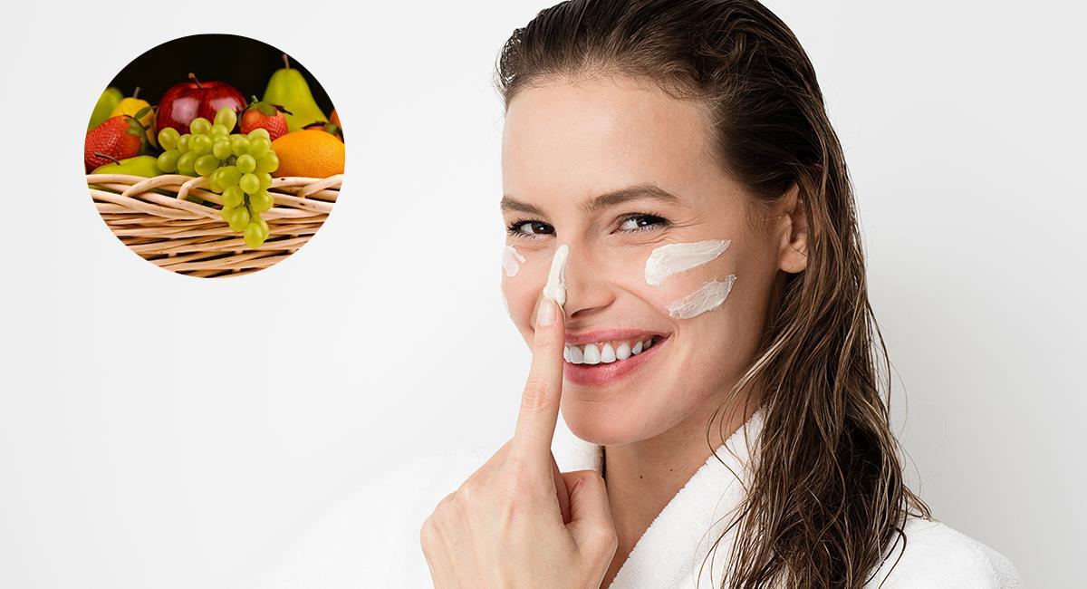 Tres frutas que podrían ser utilizadas en productos cosméticos. Foto: Shutterstock
