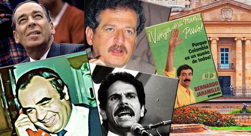 Candidatos presidenciales asesinados en plena campaña electoral