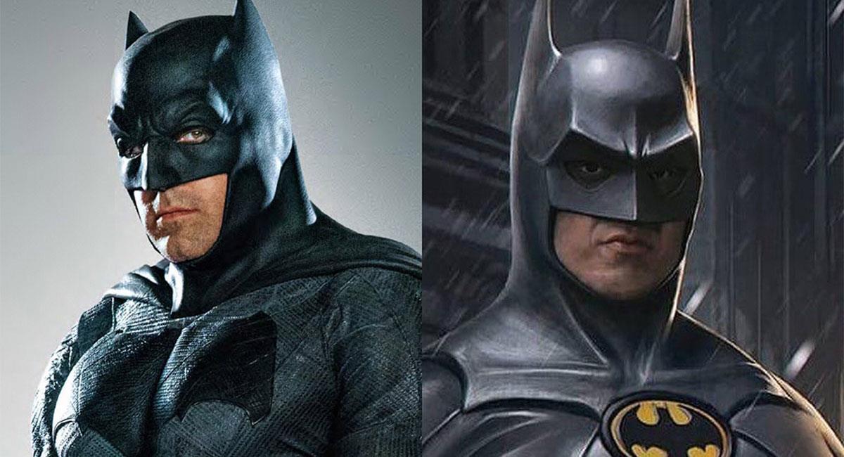 Ben Affleck y Michael Keaton ya han interpretado a Batman. Foto: Twitter @StripMarvel