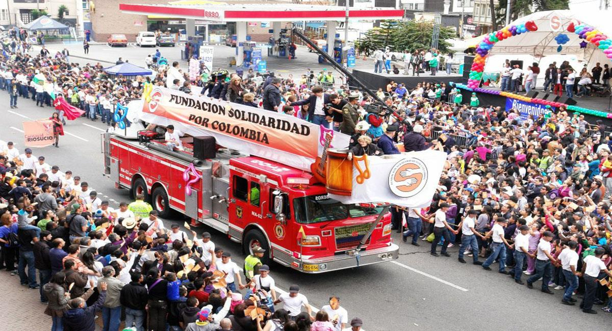 Vuelve la caminata por la solidaridad pero de forma virtual. Foto: Facebook Fundación Solidaridad por Colombia