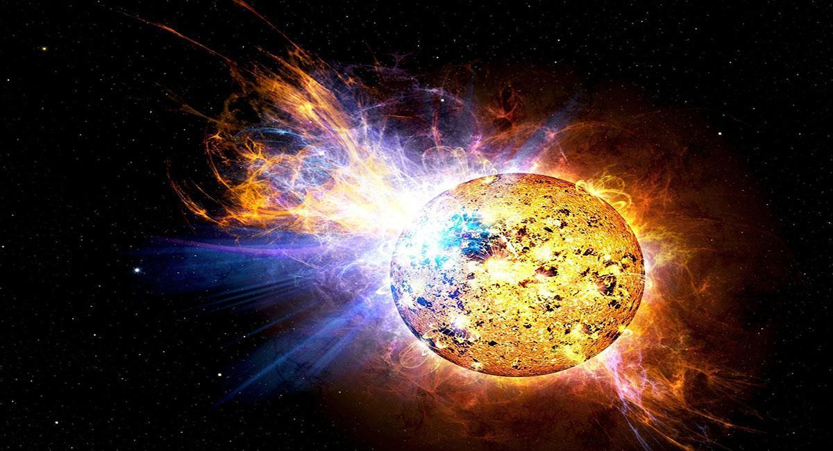 El sol produce eyecciones o lanzamientos de partículas electromagnéticas. Foto: Pixabay