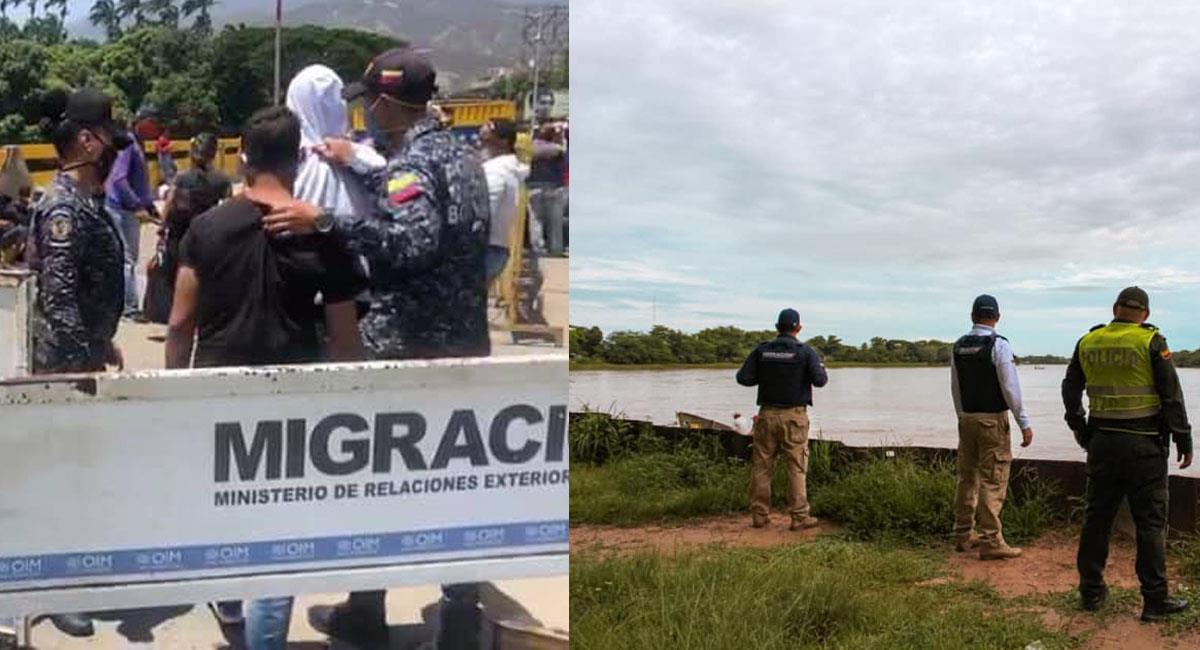 Con el cierre de la frontera la economía bilateral en la zona se afectó como nunca antes. Foto: Facebook Migración Colombia