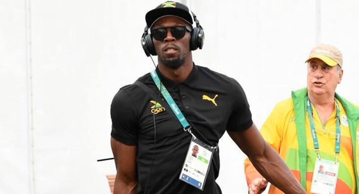 Usain Bolt, atleta jamaiquino. Foto: Twitter @usainbolt