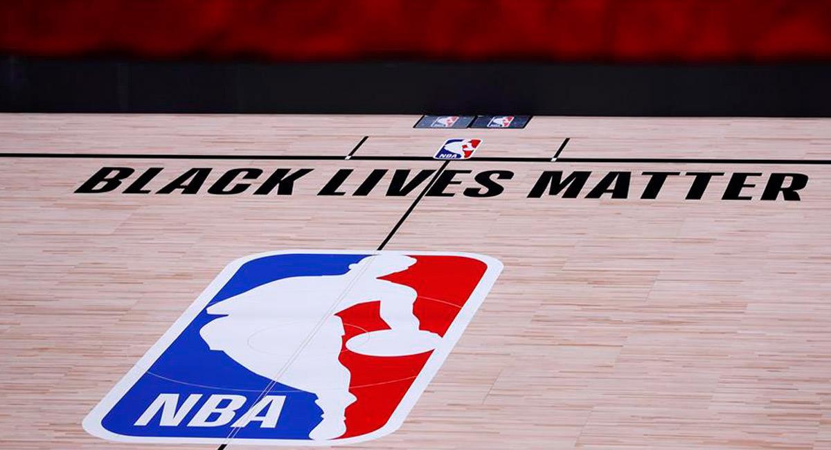 La NBA pospuso días de su temporada por los acontecimientos que están sucediendo en Estados Unidos. Foto: EFE
