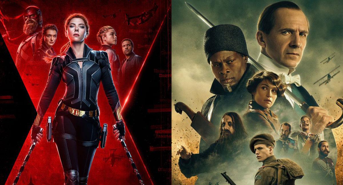 """""""Black Widow"""" y """"The King´s Man"""" esperan estrenarse lo más pronto posible tras la pandemia. Foto: Twitter @theblackwidow/ @KingsmanMovie"""