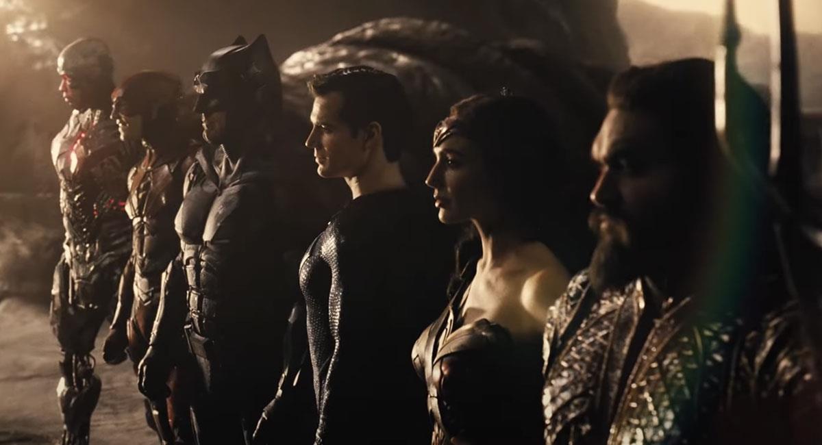 El tráiler de Justice League fue estrenado en la DCFanDome. Foto: Youtube Captura de pantalla canal HBO Max