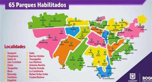 ¿Cómo será la reapertura de los parques públicos en Bogotá?