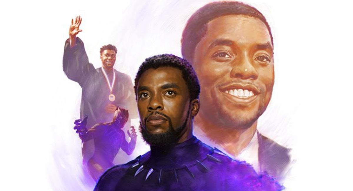 "Chadwick Boseman siempre será recordado por interpretar a ""Black Panther"". Foto: Twitter @MarvelStudios"