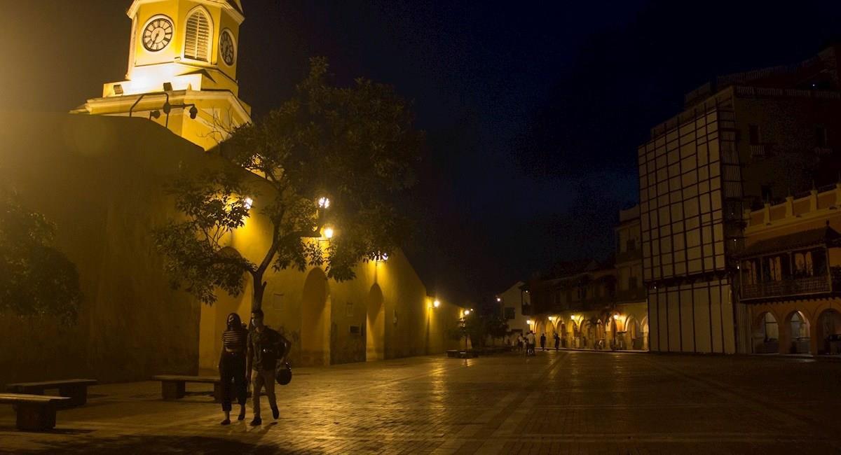 Comienza la reapertura de establecimientos en Cartagena. Foto: EFE
