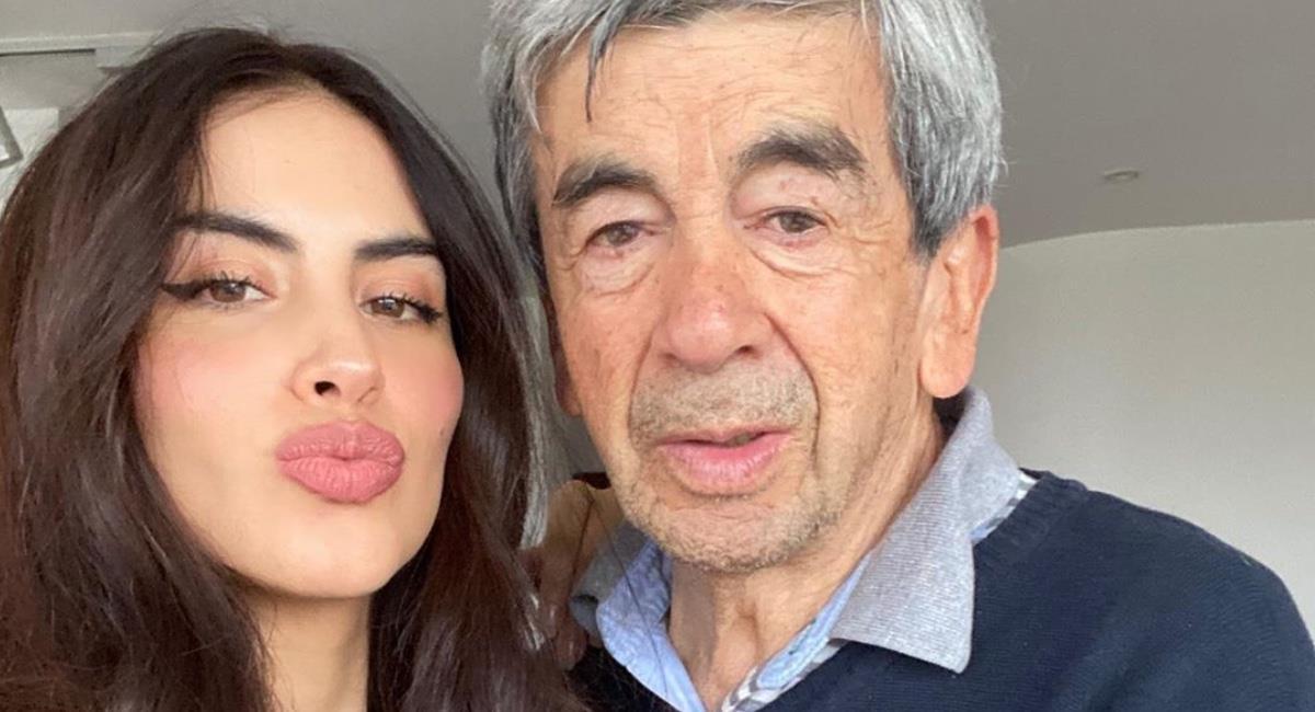 Alfonso Cediel padece de Parkinson hace 15 años. Foto: Instagram @jessicacedielnet.