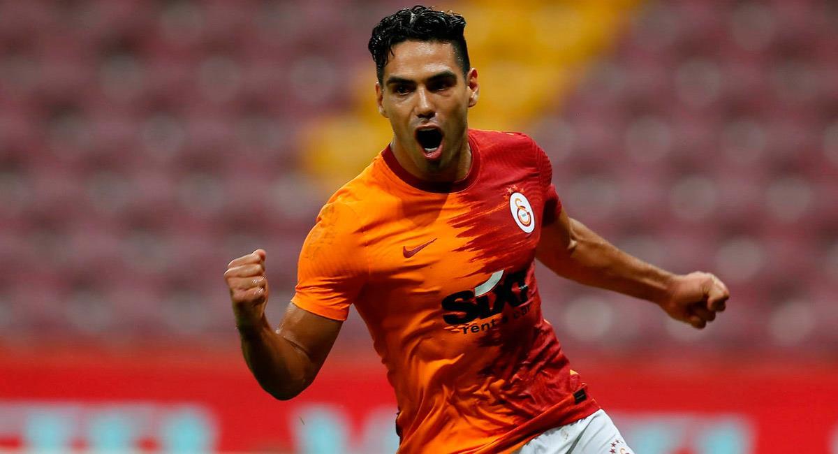 Falcao García anota doblete con su equipo. Foto: Twitter @GalatasaraySK