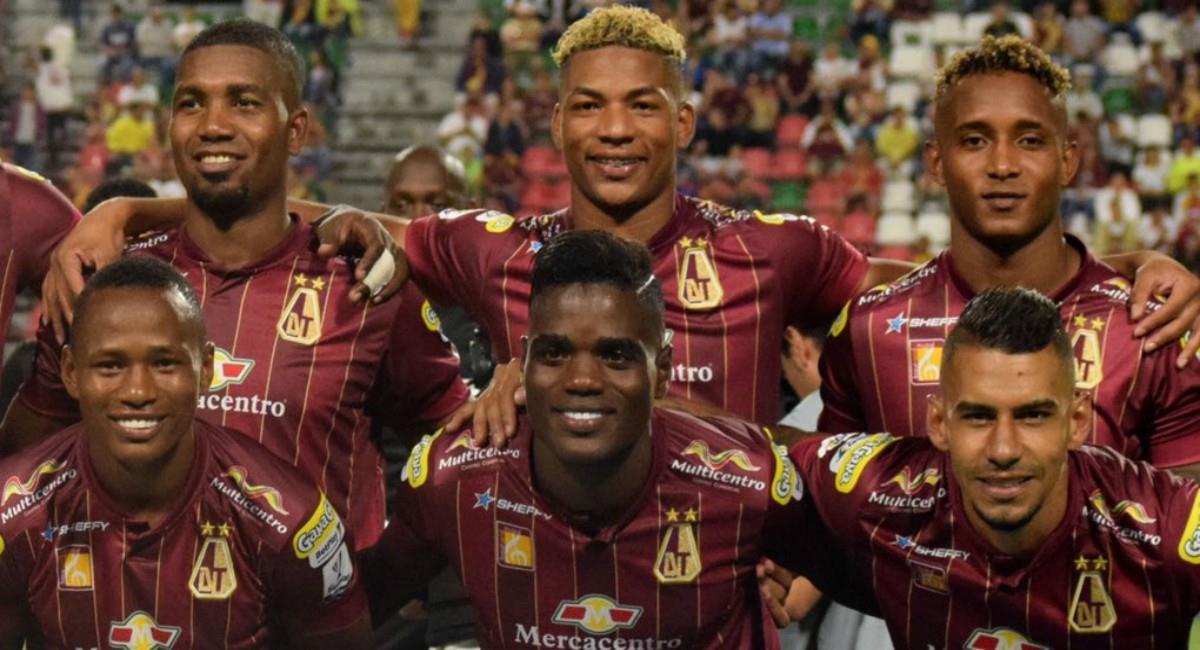 Pasto y Tolima se ponen al día en la Liga BetPlay. Foto: Twitter Prensa redes Deportes Tolima