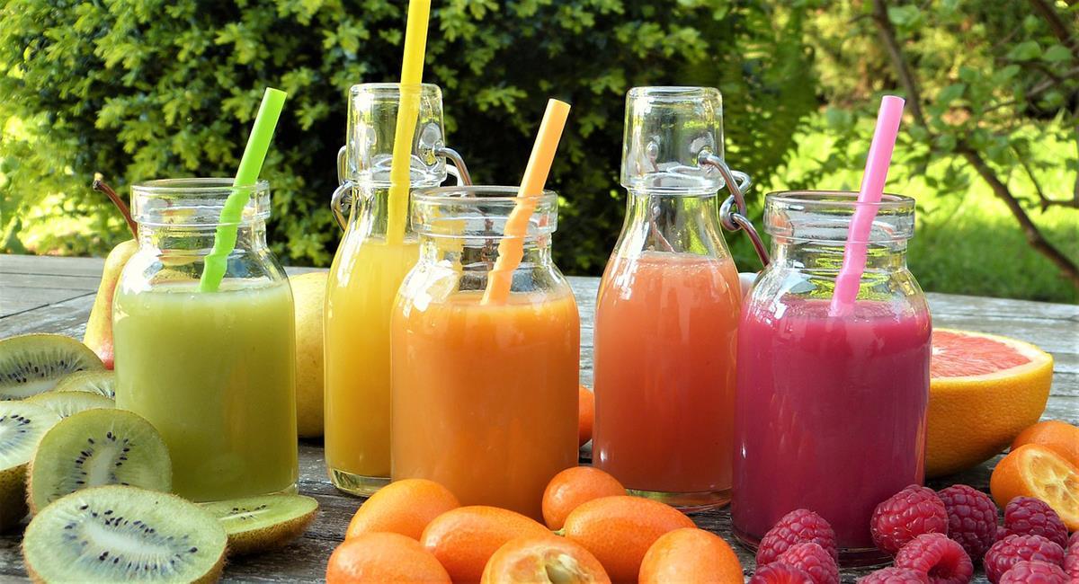 Los jugos de frutas son una inmensa fuente de bienestar y salud. Foto: Pixabay