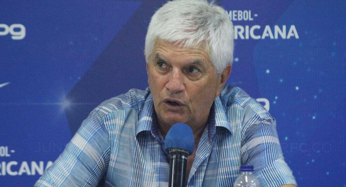 Julio Comesaña ha dirigido a Junior de Barranquilla en nueve etapas. Foto: Twitter @JuniorClubSA