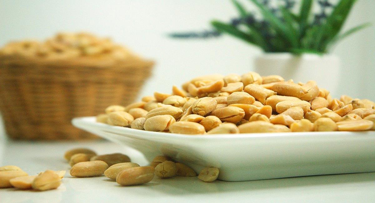 El maní es una fuente de energía y de salud para el organismo. Foto: Pixabay