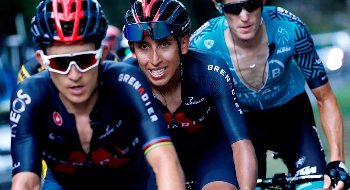Egan Bernal le dijo adiós al Tour de Francia 2020. Foto: EFE
