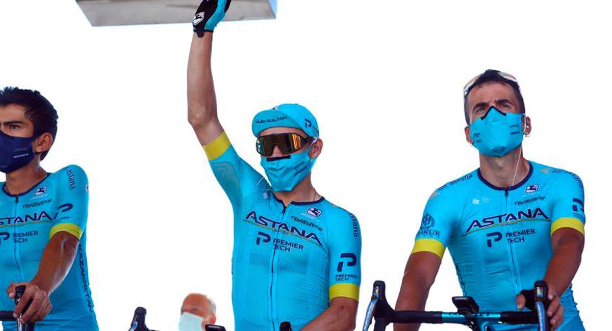 Superman López gana la etapa 17 del Tour de Francia 2020. Foto: EFE