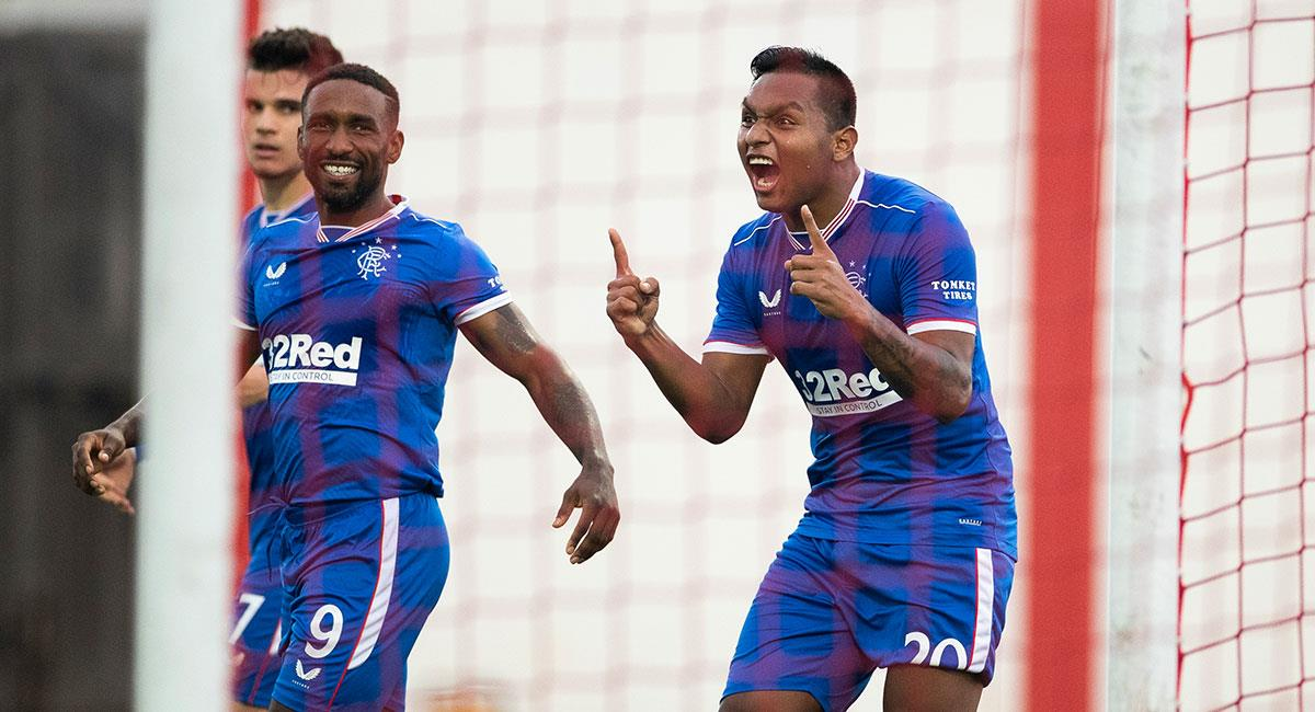 ¡Imparable! Alfredo Morelos anotó doblete en la Europa League