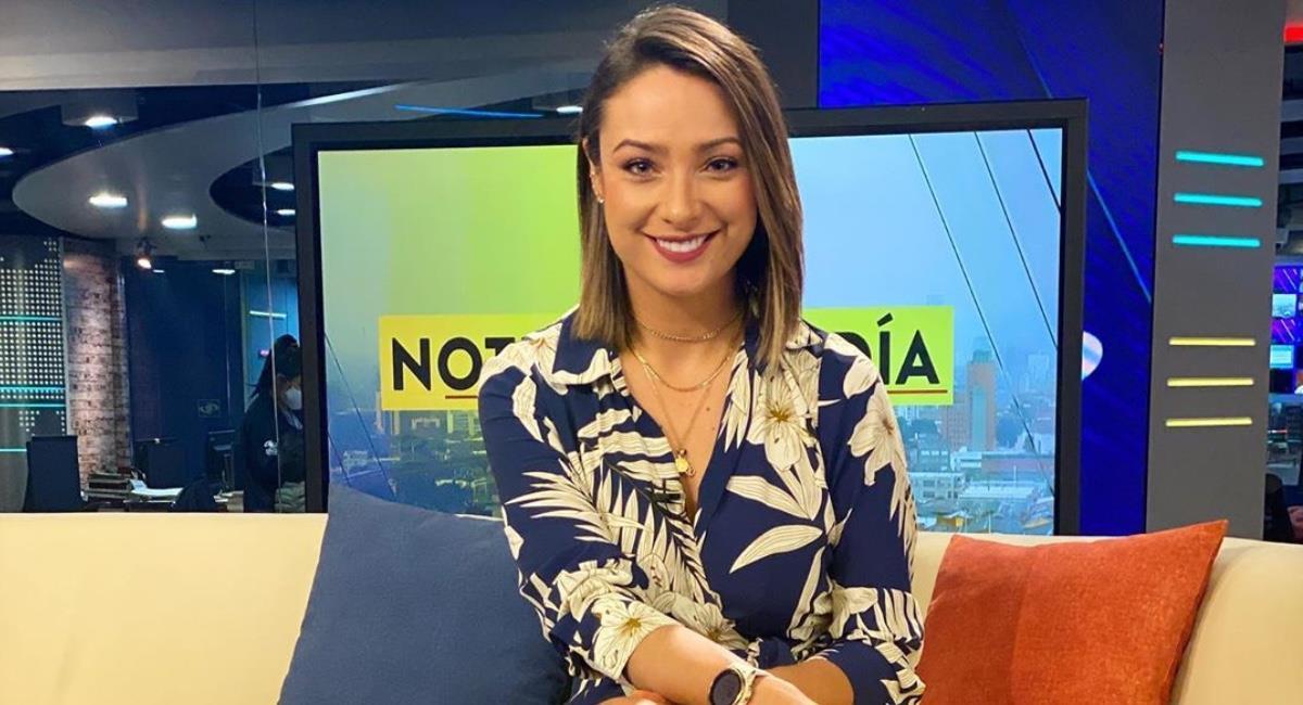 La presentadora renunció al canal. Foto: Instagram @monicajaramillog.